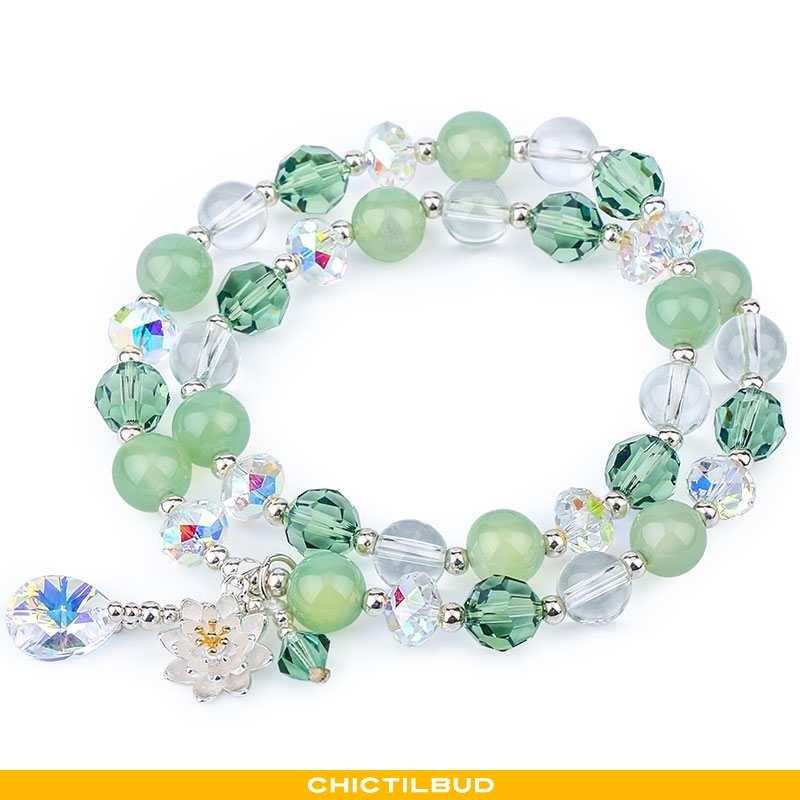 Armbånd Dame Designer Grøn