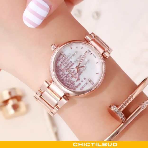 Armbåndsur Dame Casual Kvinde Hvid