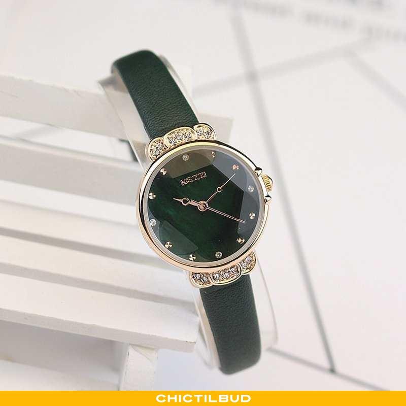 Armbåndsur Dame Mode Simple Grøn