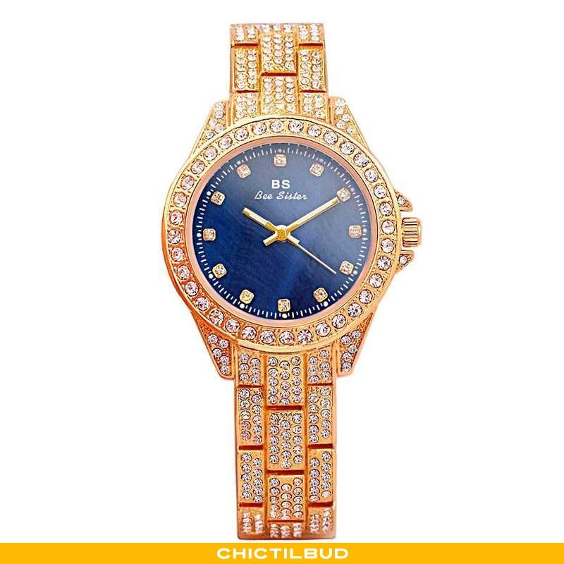 Armbåndsur Dame Trend Elegante Blå