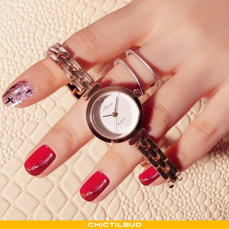 Armbåndsur Dame Trend Ny Hvid