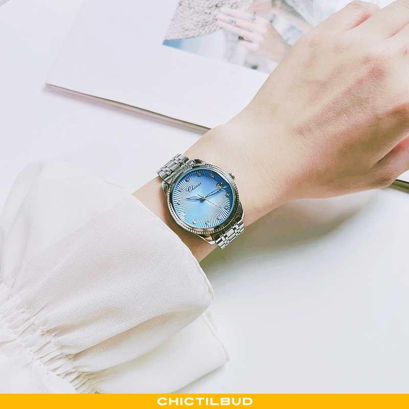 Armbåndsur Dame Vandtætte Kvinde Blå