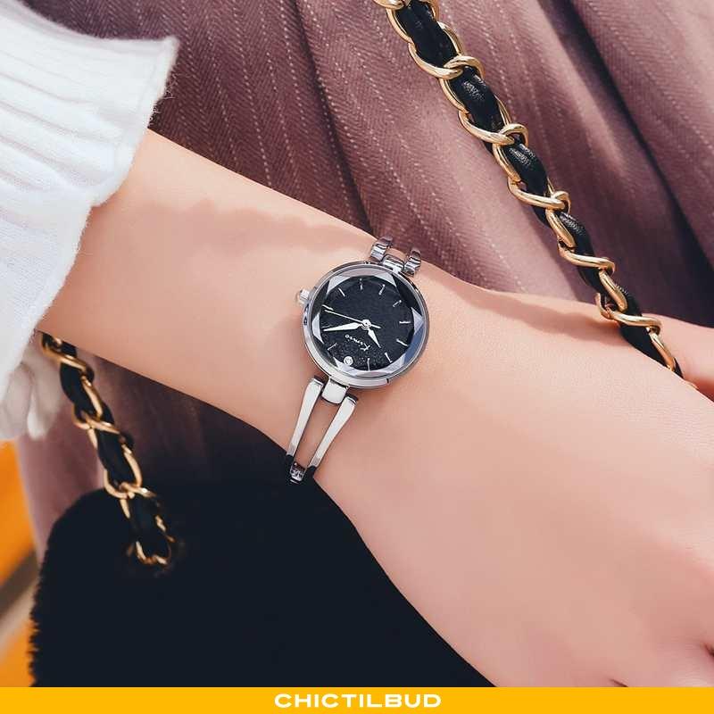 Armbåndsur Dame Vandtætte Smukke Sort