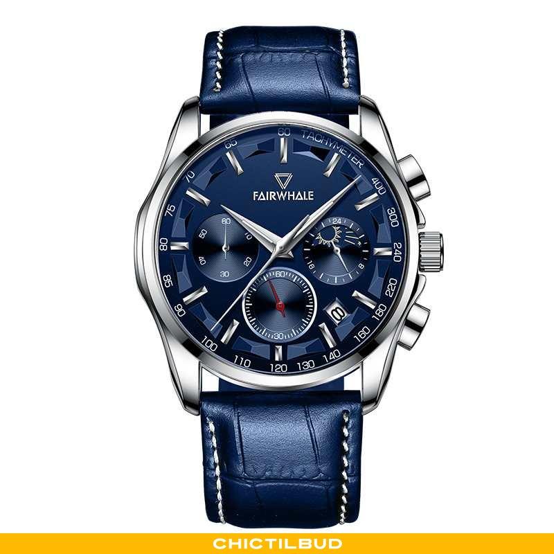 Armbåndsur Herre Business Mærker Blå