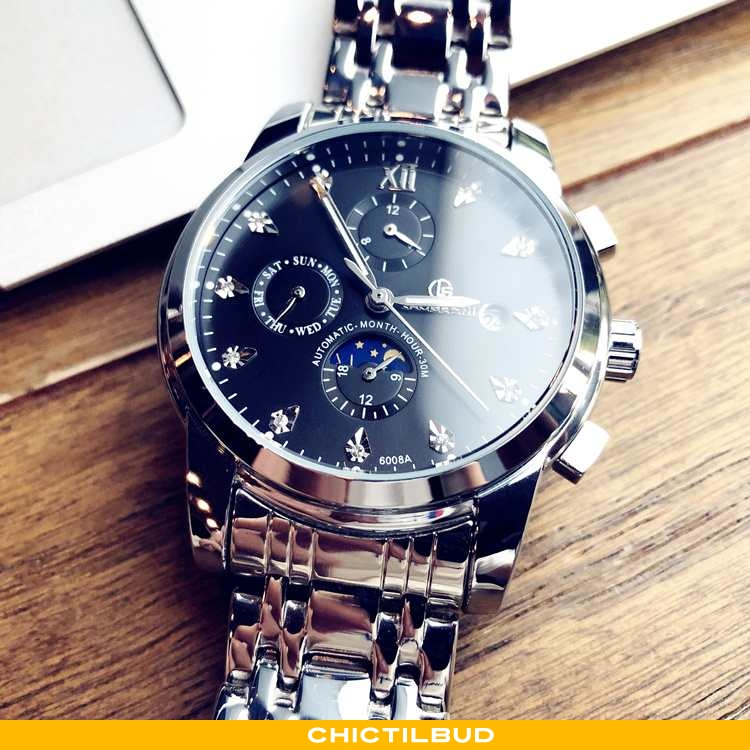 Armbåndsur Herre Trend 2020 Sølv