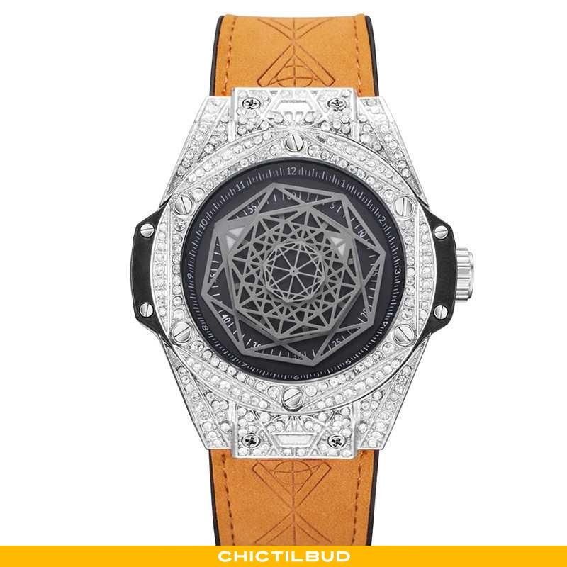 Armbåndsur Herre Trend Ny Gul