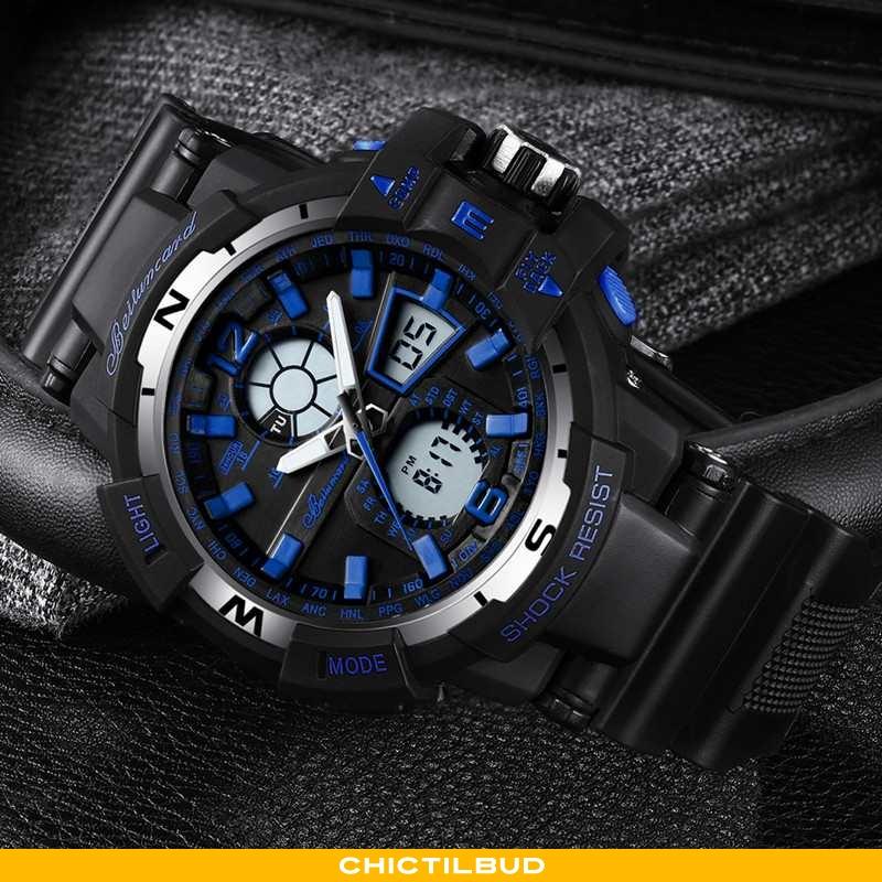 Armbåndsur Herre Trend Ur Blå