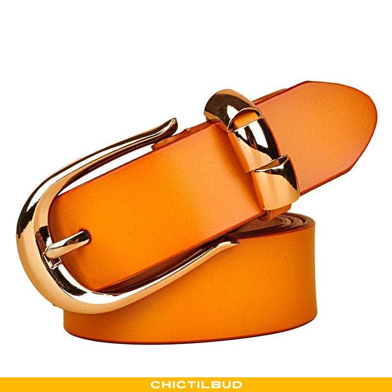 Bælte Dame Cowboybukser Læder Casual Dekoration