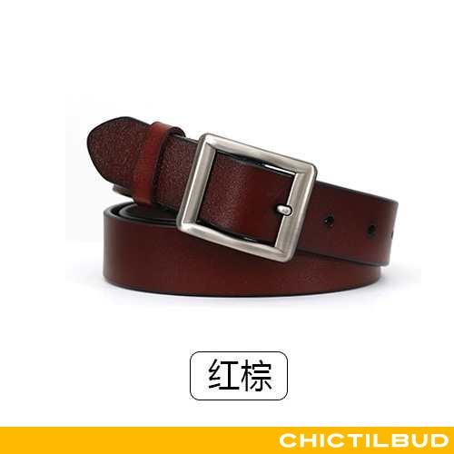 Bælte Dame Cowboybukser Læder Mode Bovini