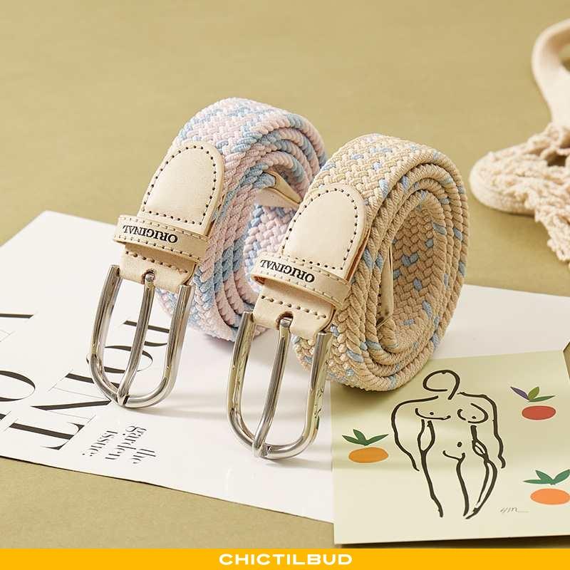 Bælte Dame Cowboybukser Læder Trend Dekoration
