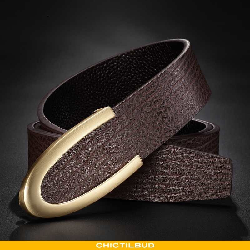 Bælte Herre Jakkesæt Læder Trend Simple