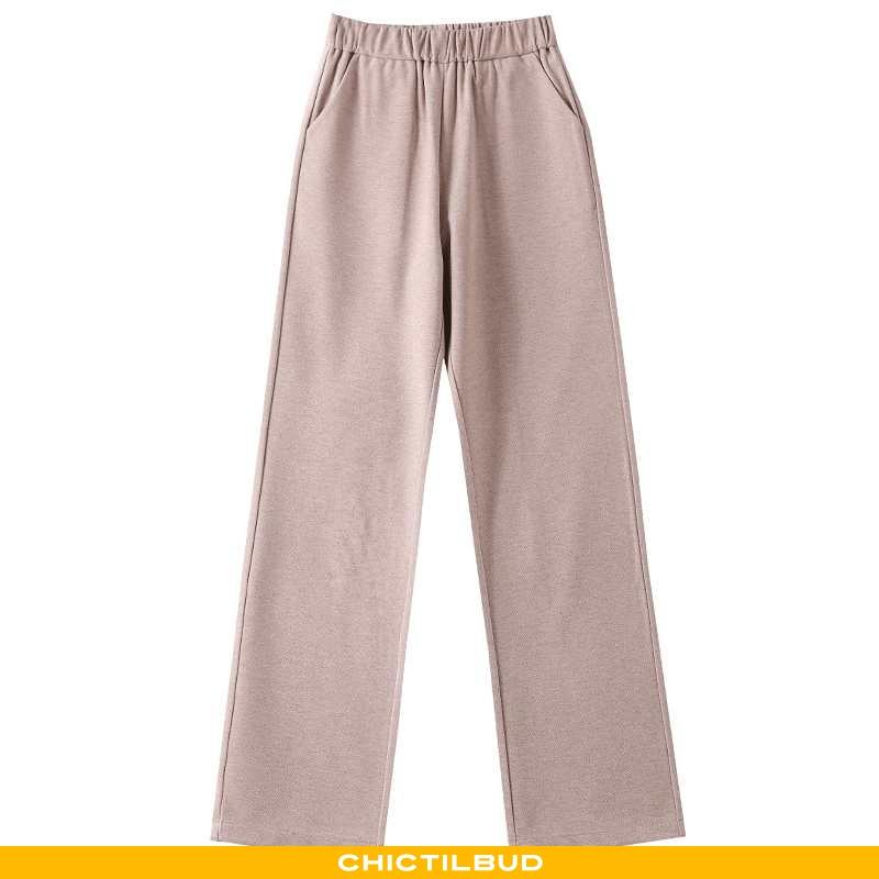 Bukser Dame Løse Elegante Khaki