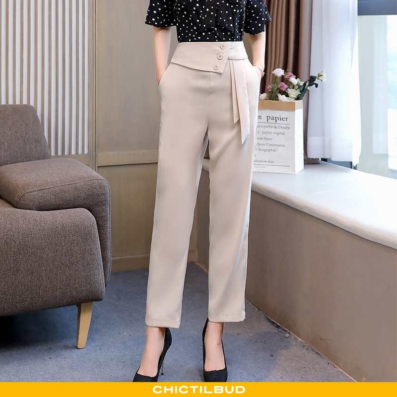 Bukser Dame Mode 2020 Beige