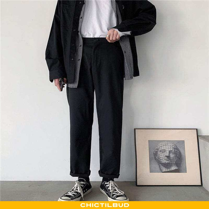 Bukser Herre Casual Bukser Business Teenager