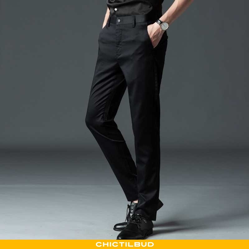 Bukser Herre Casual Bukser Naturlig Sort