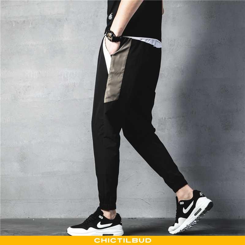 Bukser Herre Casual Bukser Trend Stramme