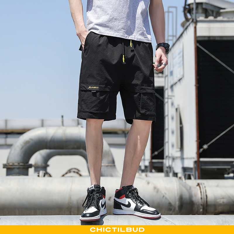 Bukser Herre Shorts Cargo Midten