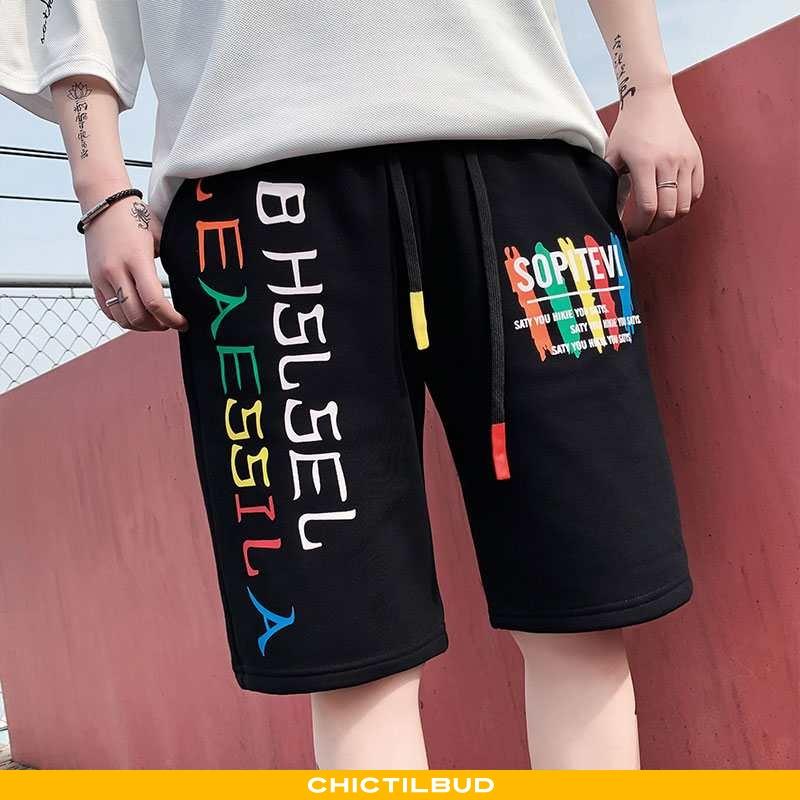 Bukser Herre Shorts Casual Hip-hop