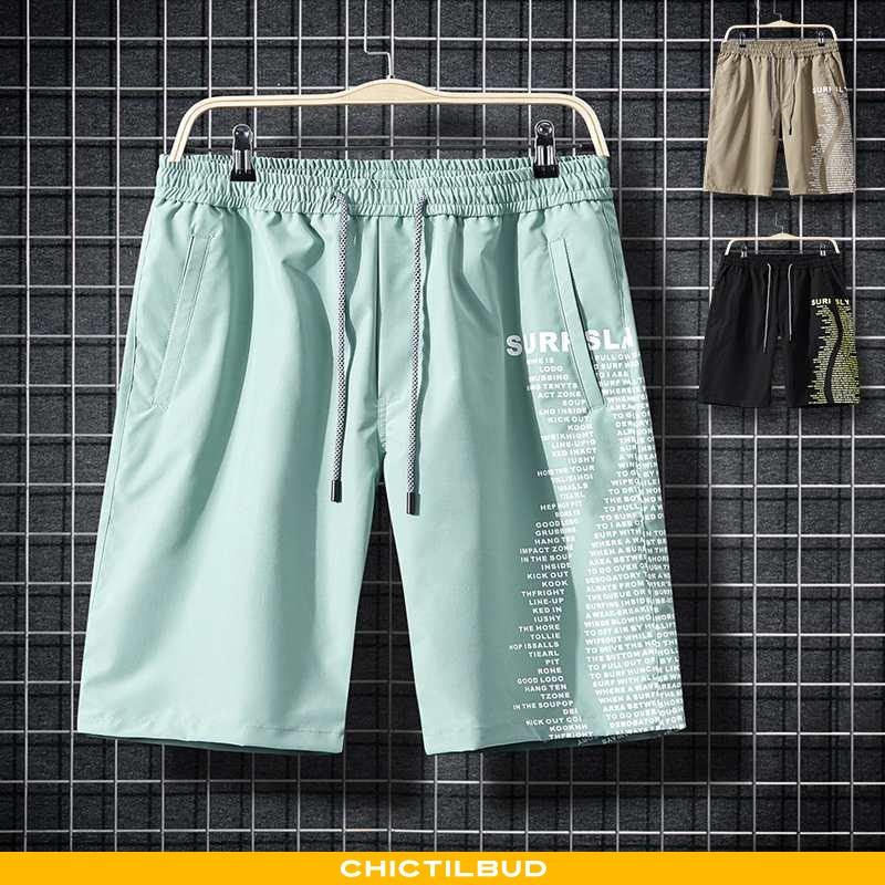 Bukser Herre Shorts Sommer Grøn