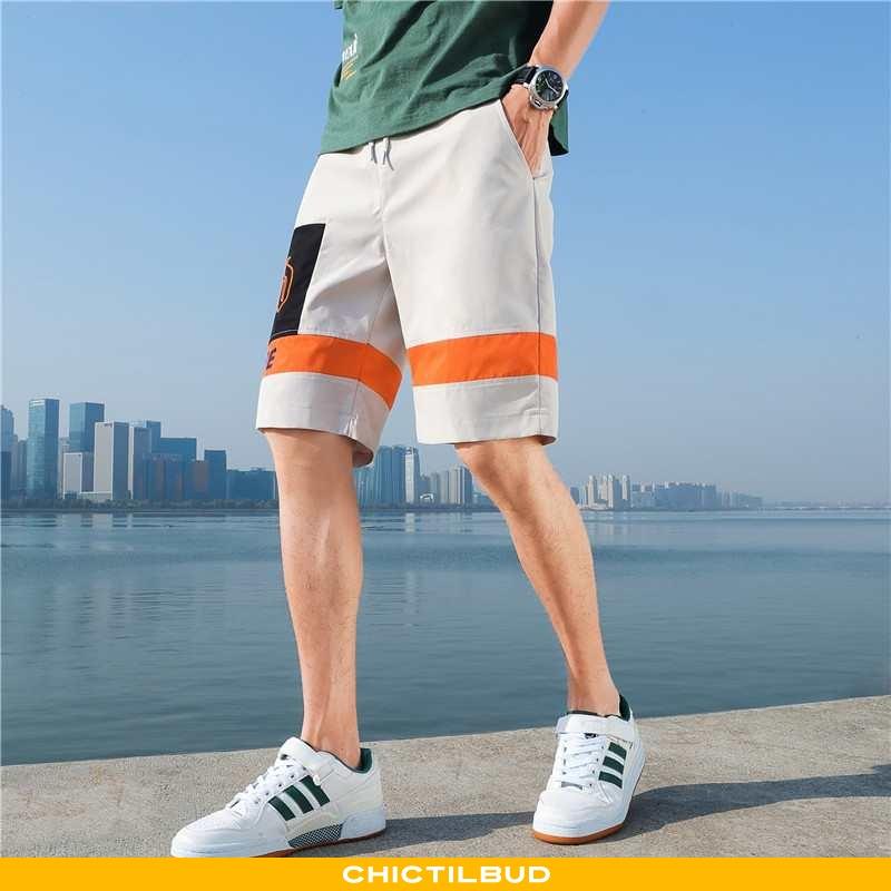 Bukser Herre Shorts Sommer Ungdom