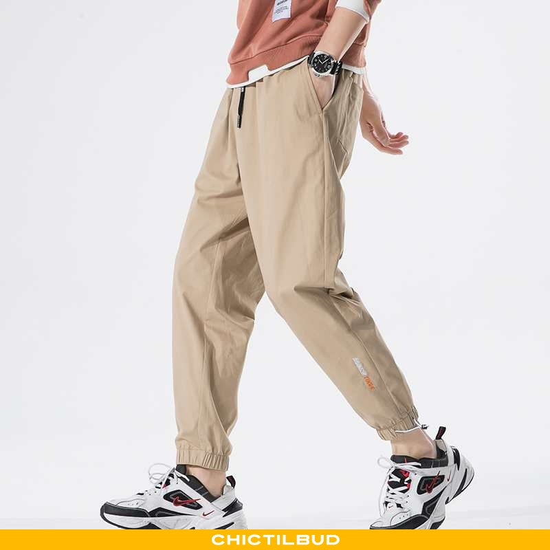 Bukser Herre Skinny Khaki