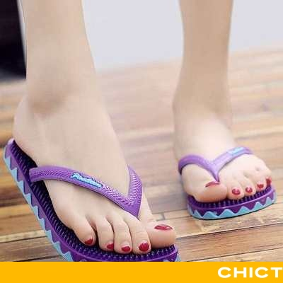 Flip Flop Dame Sandaler Mode Massage