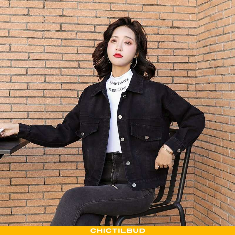 Frakke Dame Denim Mode 2020