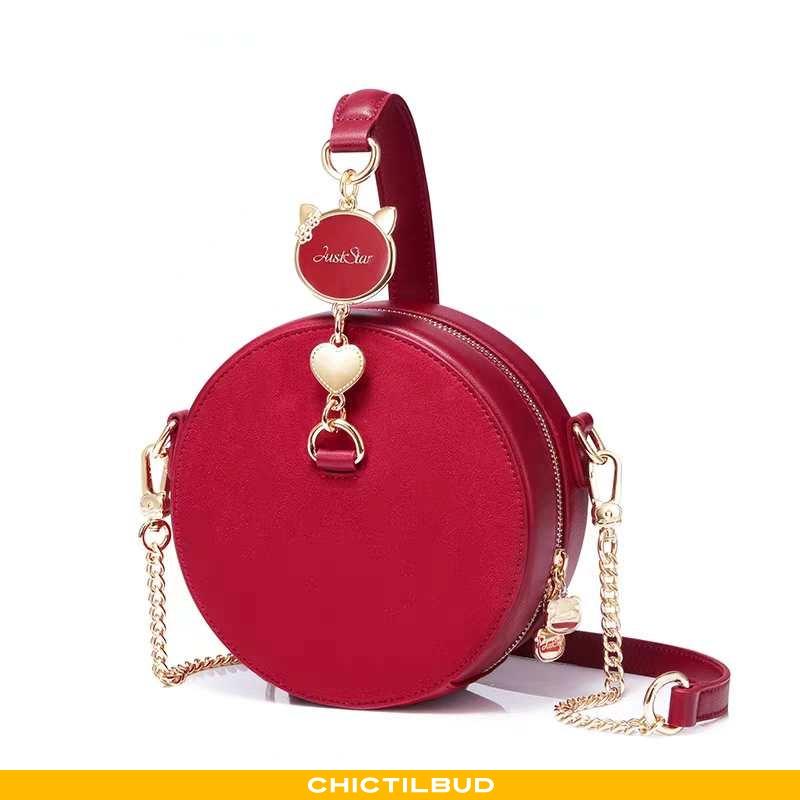 Håndtaske Dame Mode Ny Rød