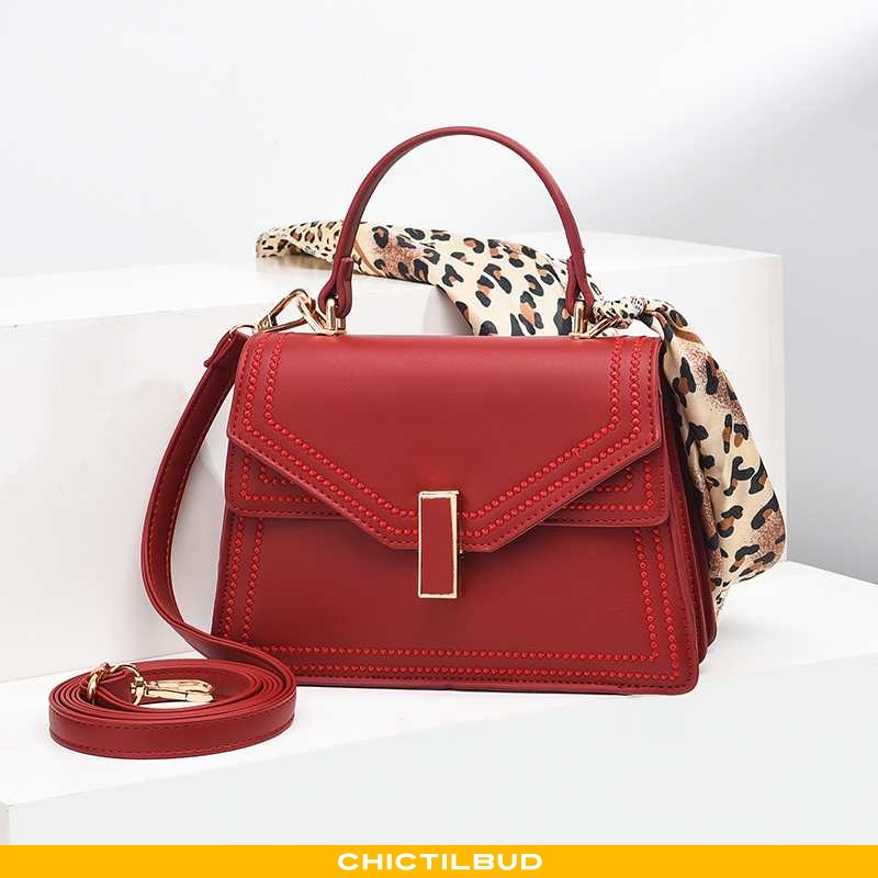 Håndtaske Dame Trend 2020 Rød