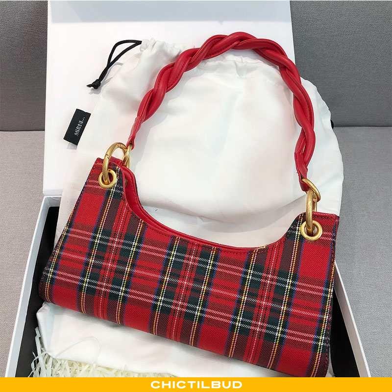 Håndtaske Dame Trend Ny Rød