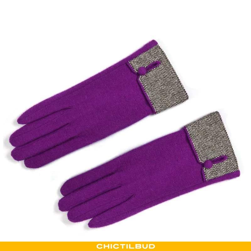 Handsker Dame Uld Varm Kvinde