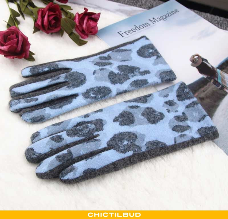 Handsker Dame Vinter Kvinder Blå