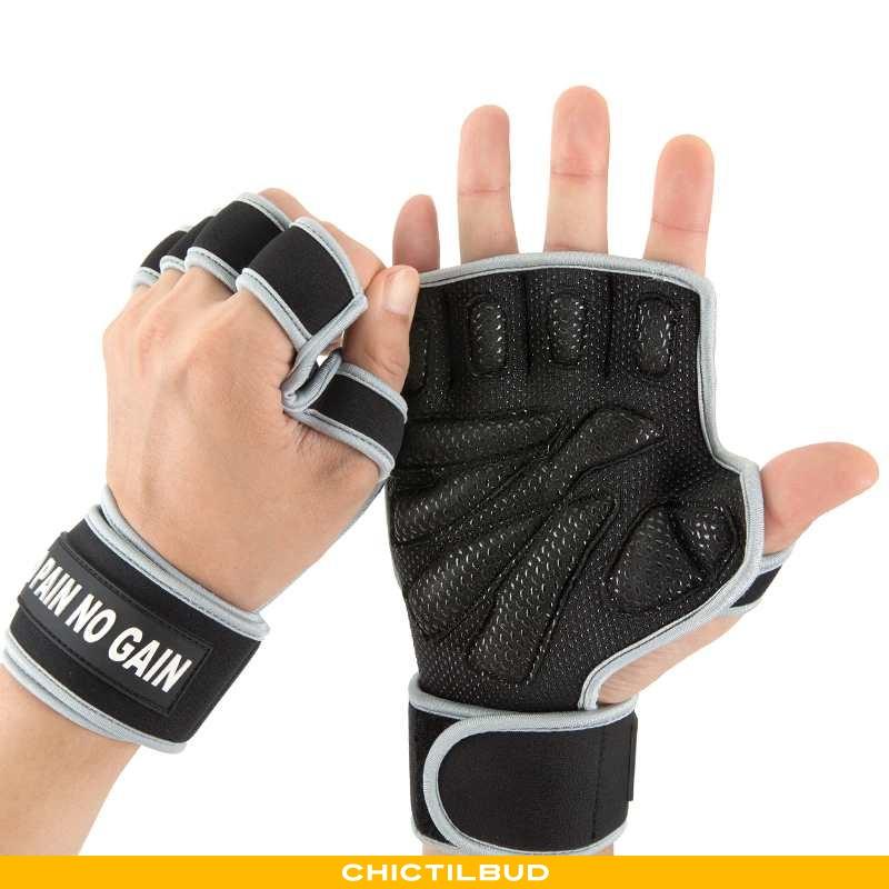 Handsker Herre Sports Håndvægte Grå