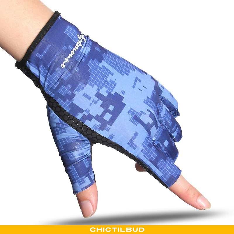 Handsker Herre Tynd Ridning Blå