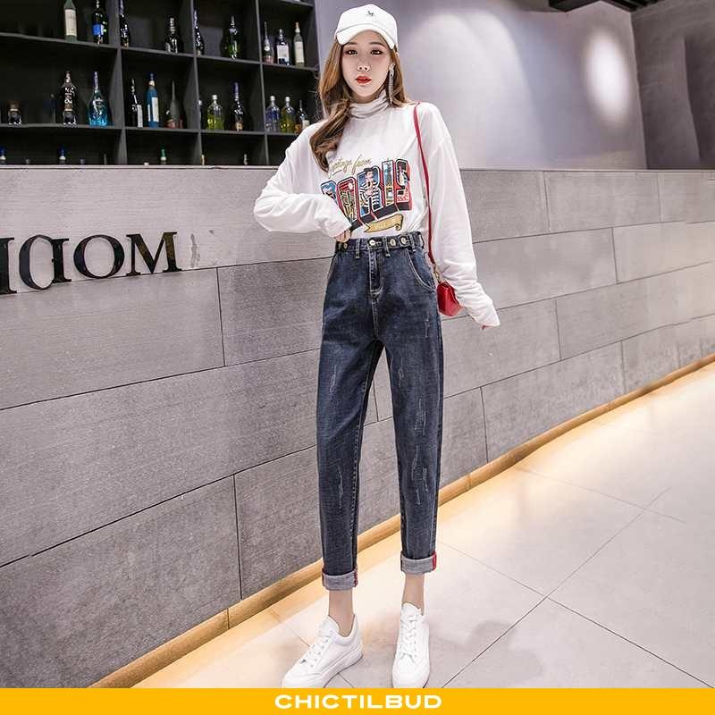 Jeans Dame Bukser Skinny Kvinder