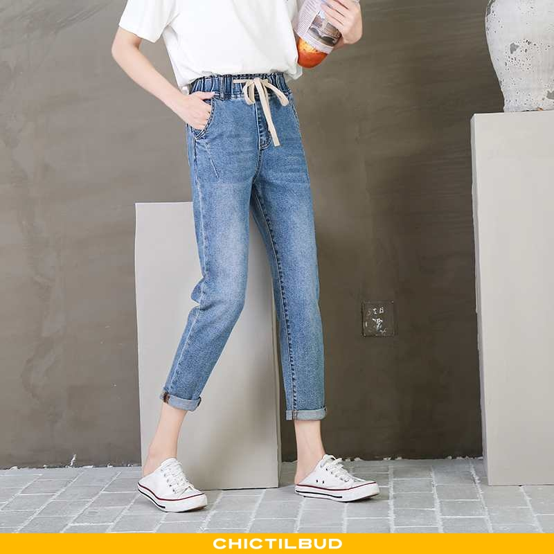 Jeans Dame Cowboybukser Bomuld Forårs Ny