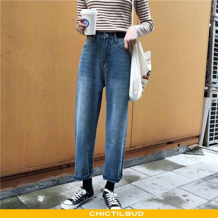 Jeans Dame Cowboybukser Mode Elegante
