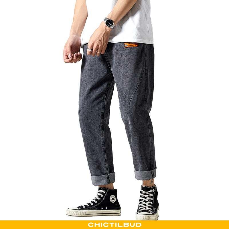Jeans Herre Bukser Trend Ny