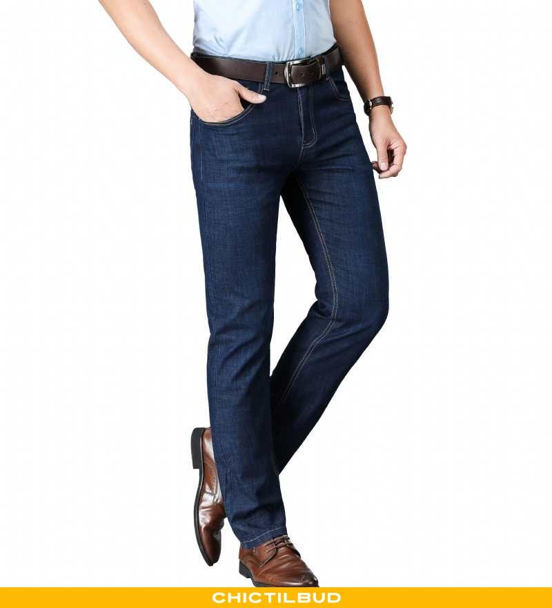 Jeans Herre Cowboybukser Løse Ny
