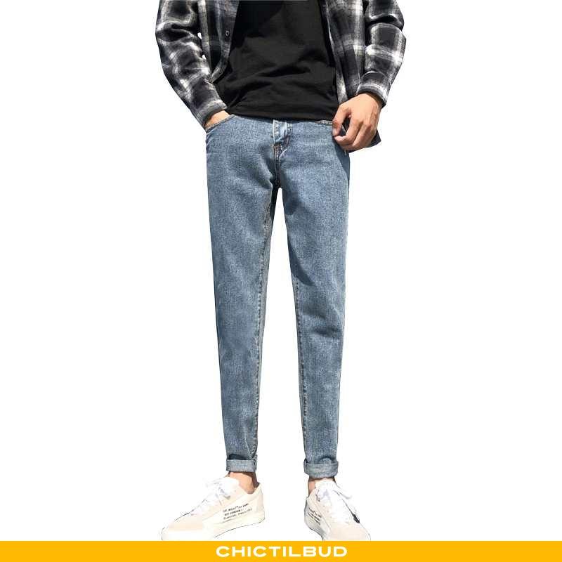 Jeans Herre Cowboybukser Trend Mænd