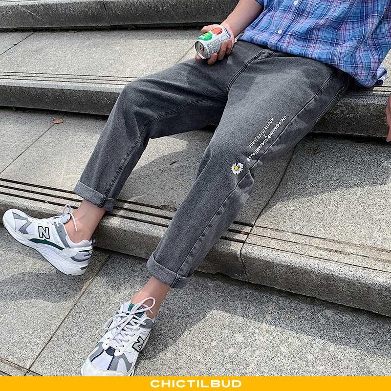 Jeans Herre Cowboybukser Trend Salg