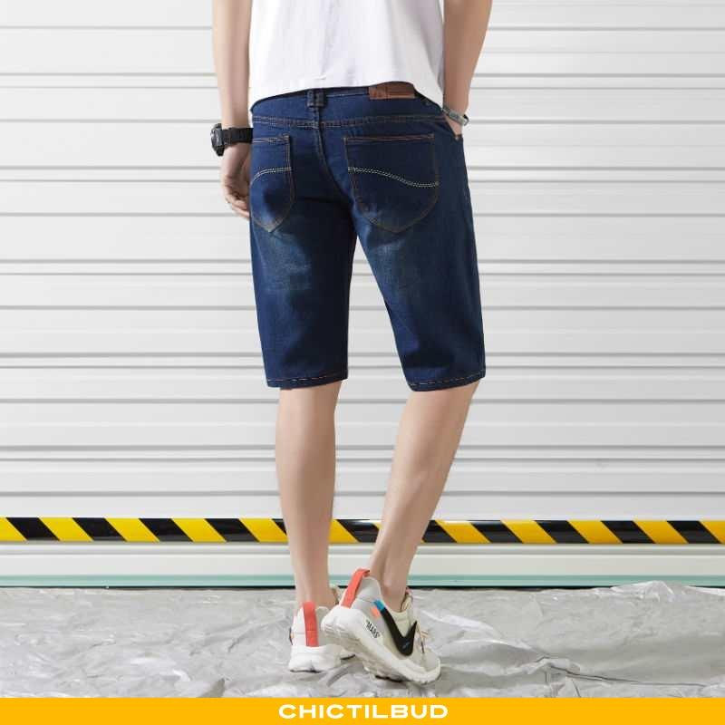 Jeans Herre Shorts Casual Store Størrelser