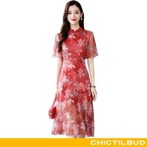 Kjoler Dame Kjole Mode Ny