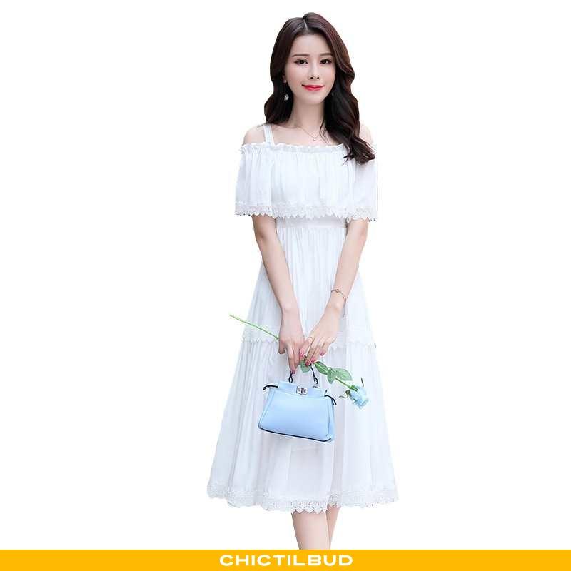 Kjoler Dame Kjole Mode Swag