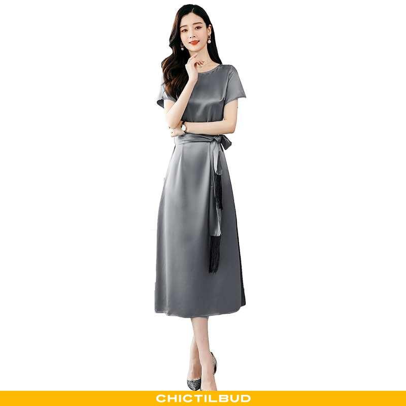Kjoler Dame Kjole Trend Midten