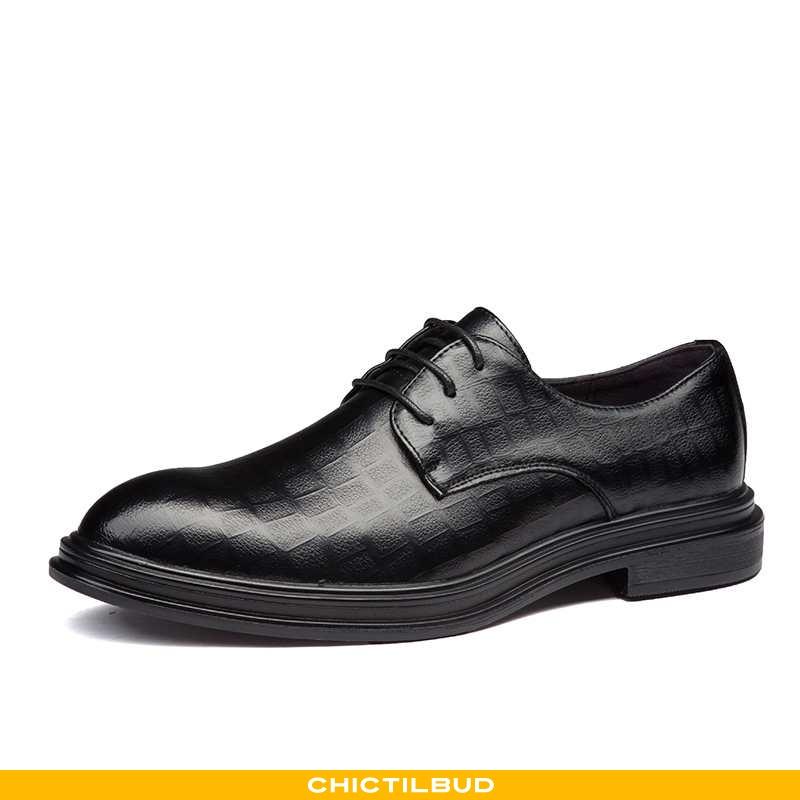 Læder Sko Herre Lædersko Læder Business Britisk
