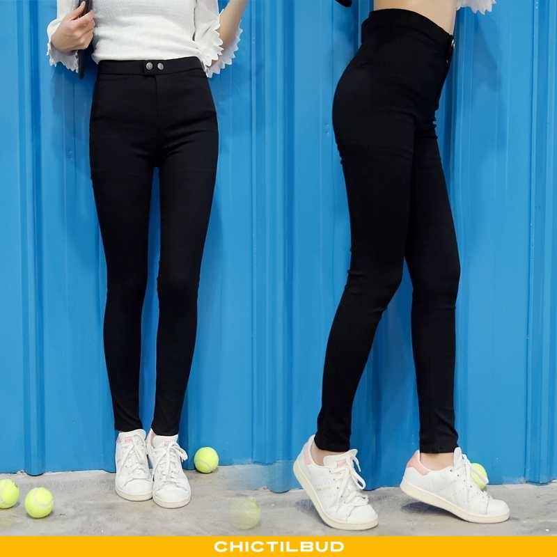 Leggings Dame Bukser Pencil 2021