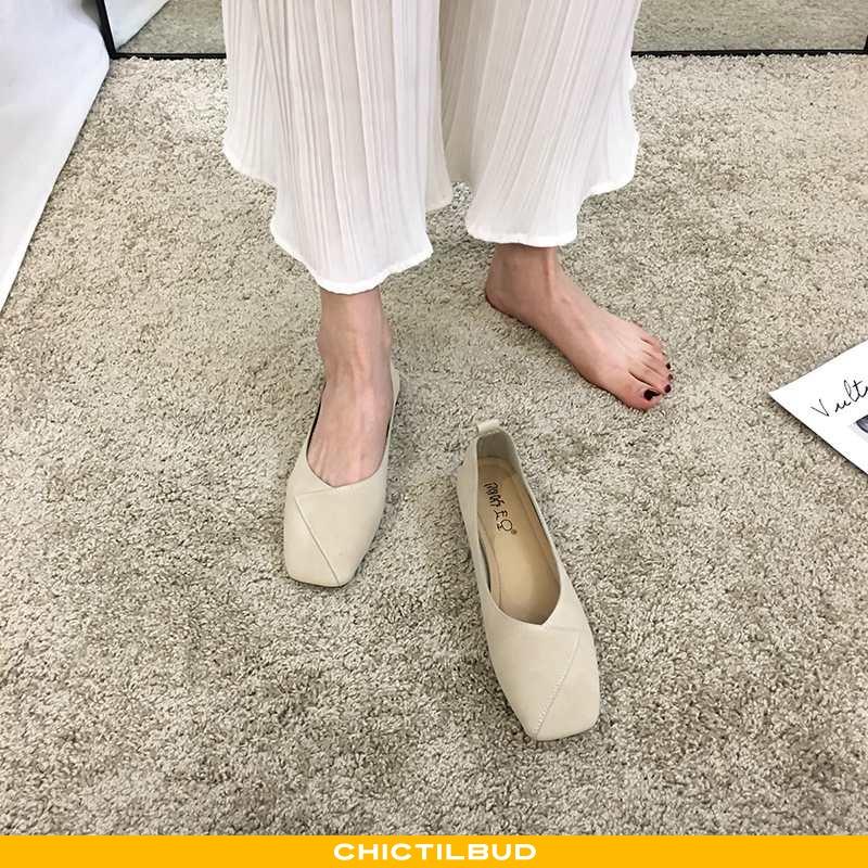 Loafers Dame Enkelt Sko Læder Sommer Kvinder