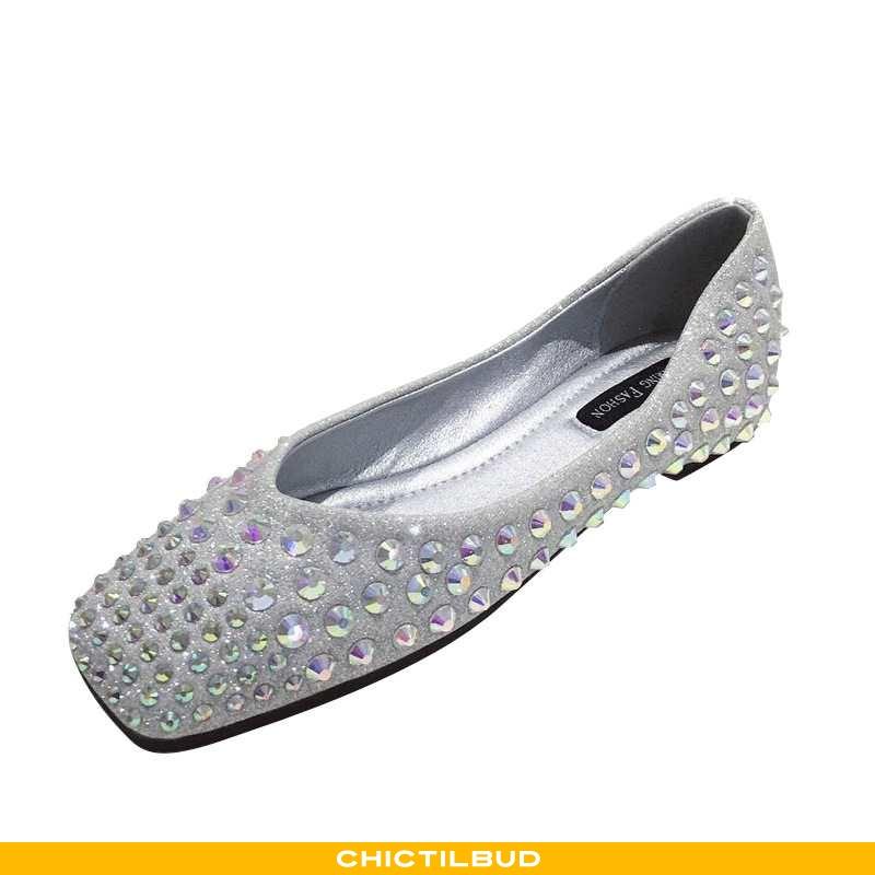 Loafers Dame Flade Sko Sommer Slip On