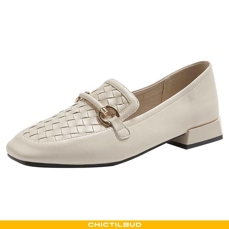 Loafers Dame Lædersko Vintage Kvinder